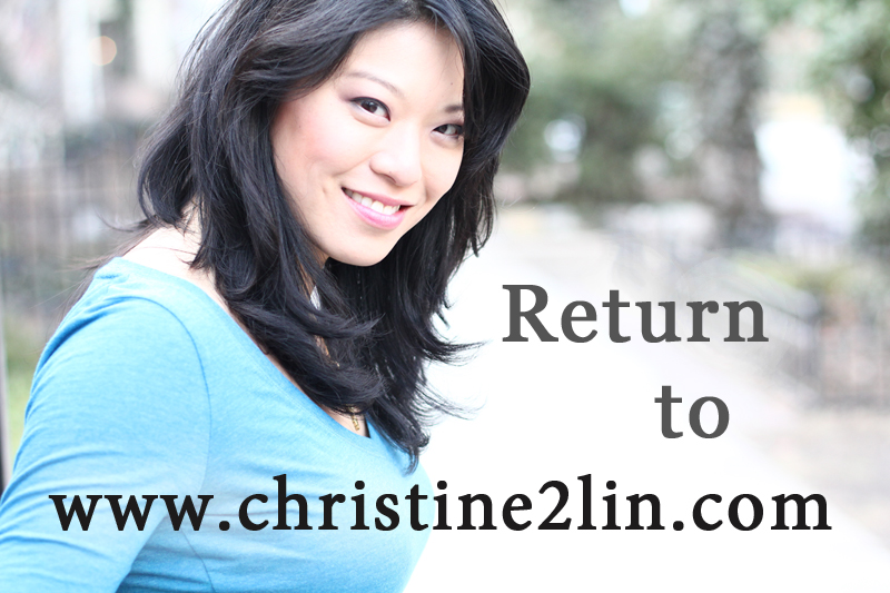 Return to www.christine2lin.com